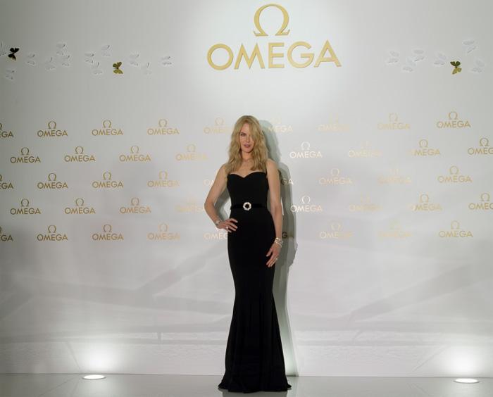 Nicole Kidman pour Omega