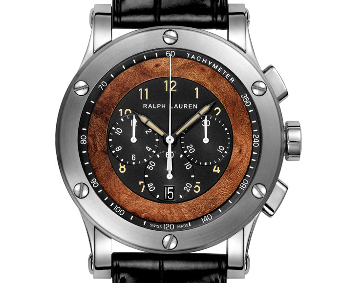 Ralph Lauren Sporting Automotive Chronographe