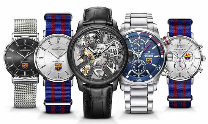 Maurice Lacroix : les montres FCB