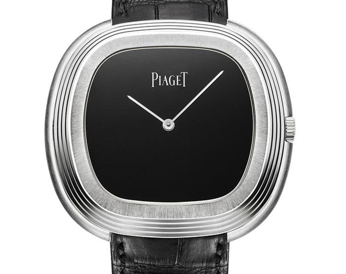 Piaget Black Tie inspiration vintage or gris et onyx