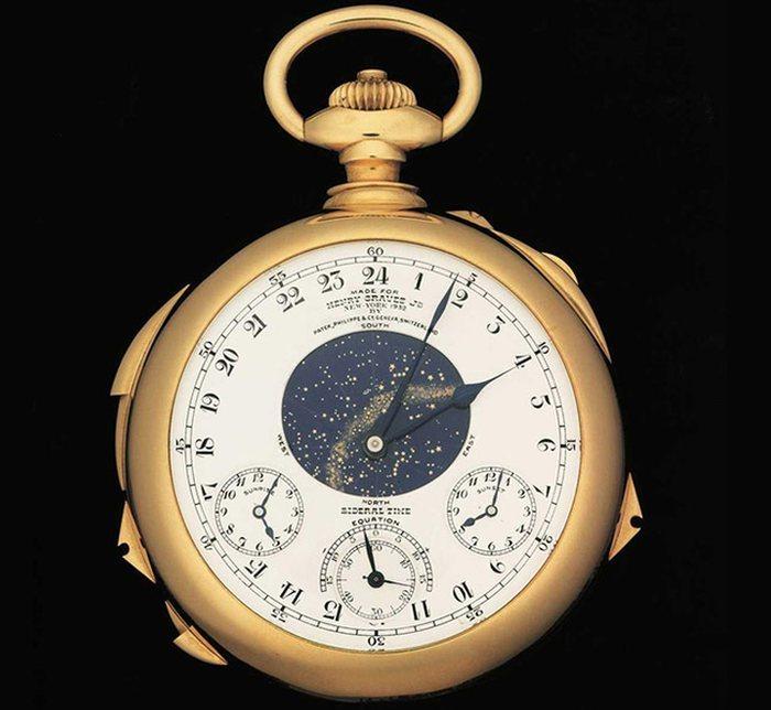 Patek Philippe Supercomplication Henry Graves : 19 millions d'euros pour la montre la plus chère de l'histoire