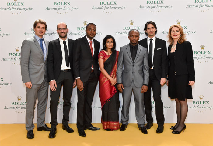 Rolex : cinq jeunes reçoivent les Prix Jeunes Lauréats 2014