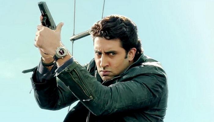 Dhoom 3 : Abhishek Bachchan porte une Omega Spacemaster Z-33