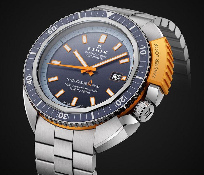 """Edox Hydro Sub : l'une des """"plongeuses"""" les plus cools de l'année !"""