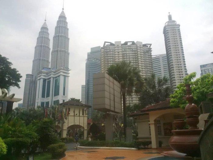 Kuala Lumpur et les tours Petronas