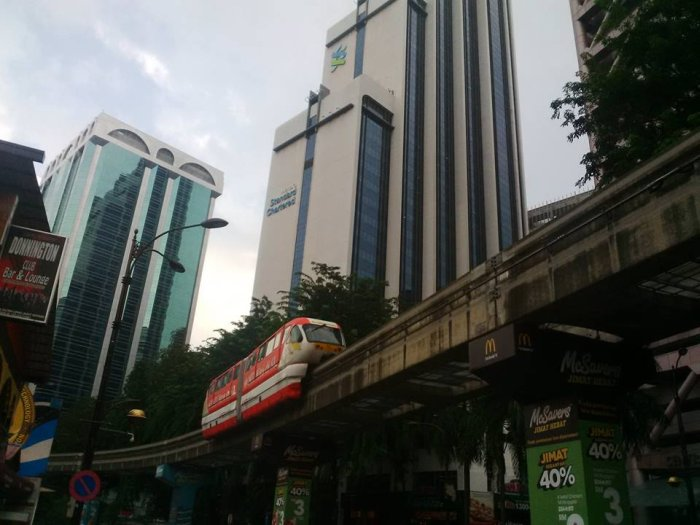 Kuala Lumpur, métro aérien