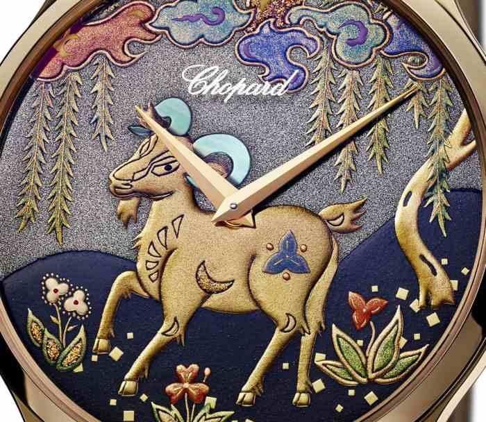 Chopard L.U.C. XP Urushi : année de la chèvre