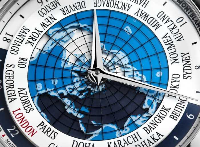 Montblanc Heritage Spirit Orbis Terrarum : une heure universelle élégante et accessible