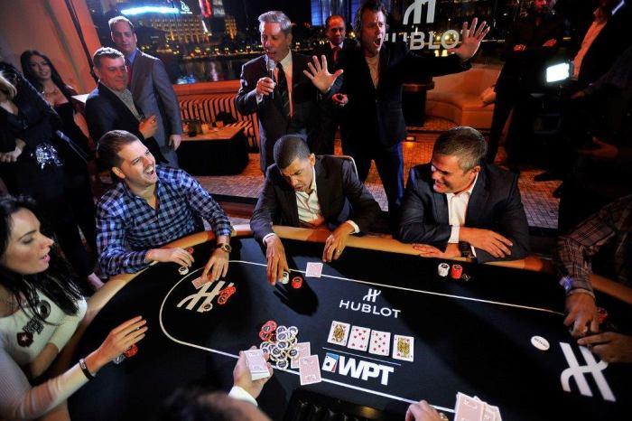 Hublot : coup de poker avec le World Poker Tour