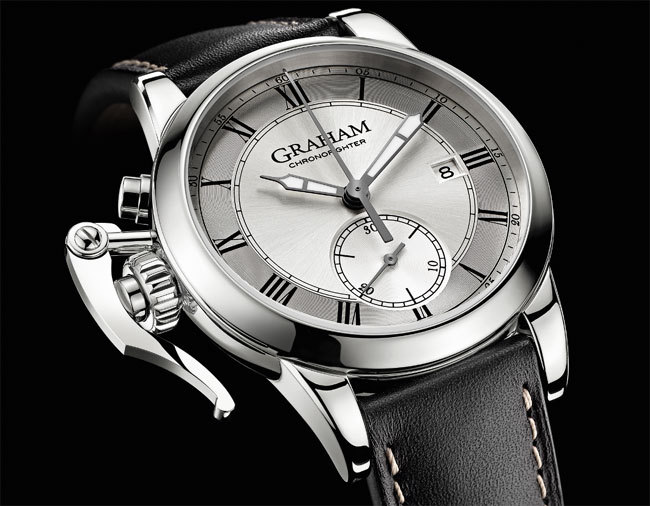 Graham Chronofighter 1695 erotic : recto sage et verso coquin