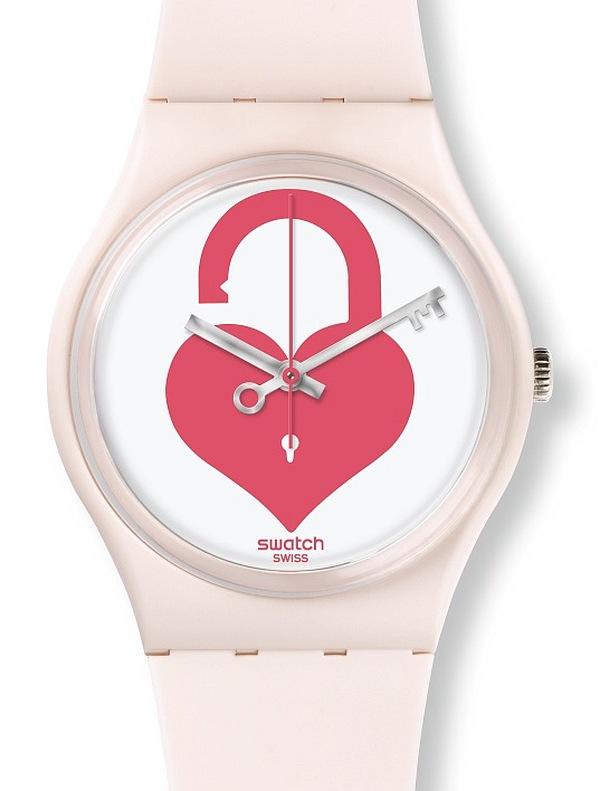 Swatch : ouvre ton cœur pour la Saint Valentin 2015