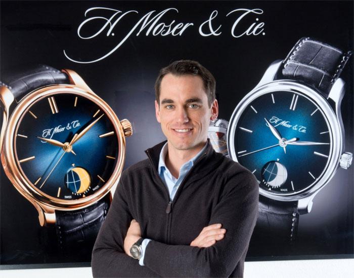 Edouard Meylan, PDG de H. Moser & Cie