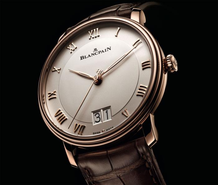 Blancpain Villeret : arrivée d'une Grande Date