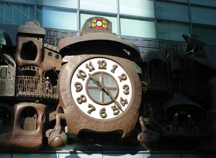 Horloge de Miyazaki à Shiodome