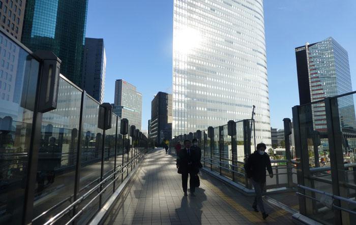 Tokyo, quartier de Shiodome