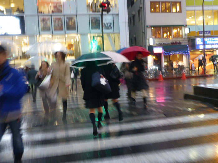 Tokyo, Shinjuku sous la pluie