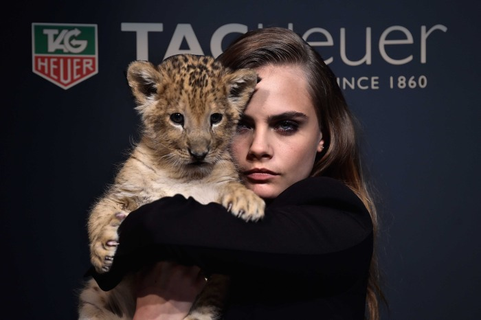 Cara Delevingne pour TAG Heuer