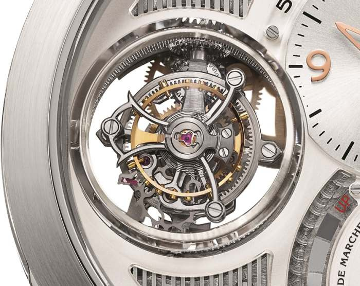 Girard-Perregaux Tourbillon Tri-axial : version or gris