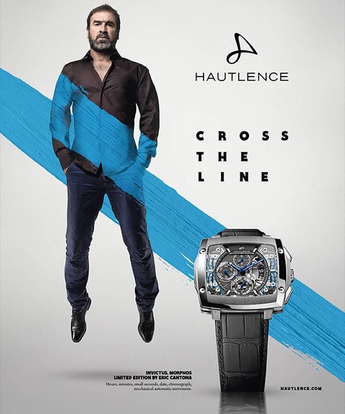 Cross the line Hautlence, avec Eric Cantona
