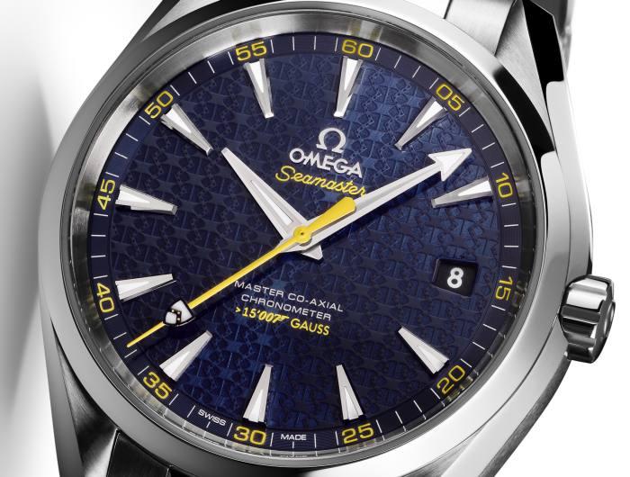 Omega Seamaster Aqua Terra 150 m : série limitée James Bond pour la sortie de Spectre