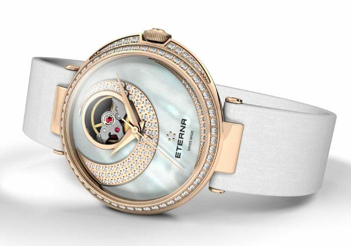 Eterna Grace Open Art : quand la montre se fait bijou...