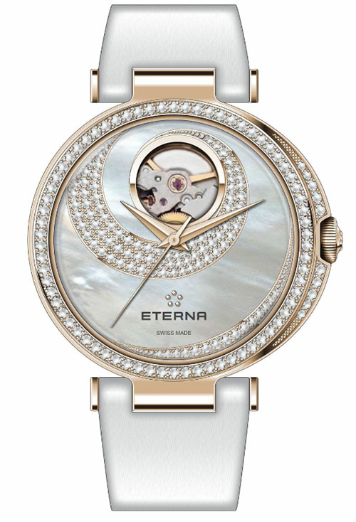 Eterna Grace Open Art : quand la montre se fait bijou...