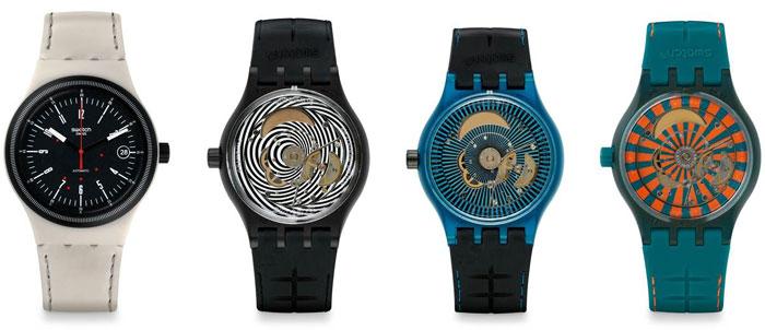 Swatch Sistem51 : cinq nouveaux modèles