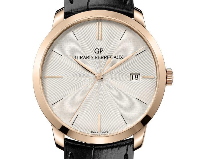 Girard-Perregaux 1966 : cadran guilloché