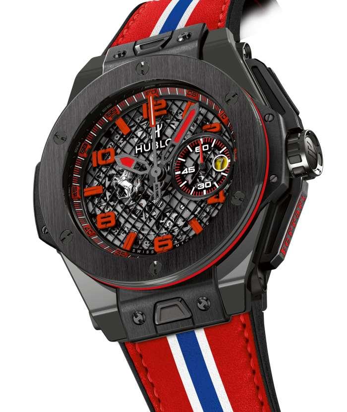 Hublot Big Bang Ferrari : céramique noire ou grise