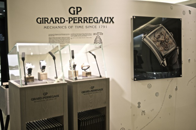 Girard-Perregaux : Vintage 1945, rétrospective au Bon Marché