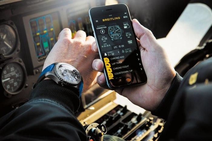 Breitling B55 : la montre connectée selon Breitling