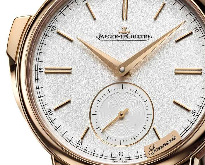 Jaeger-LeCoultre Master Grande Tradition à Répétition Minutes : répét'minutes auto