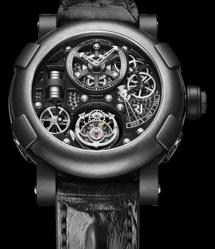 RJ-Romain Jerome Tourbillon Steampunk Gunmetal