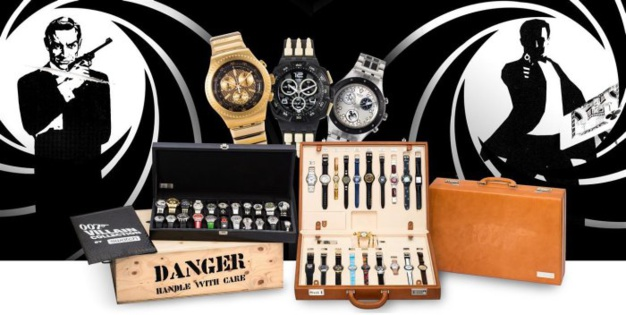 La collection Swatch-Dunkel s'envole pour la somme de 5.5 millions d'euros