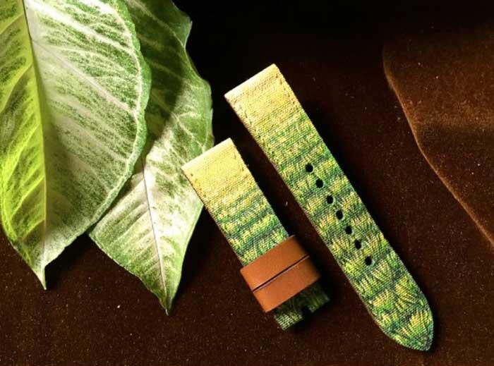 Gunny Straps : des bracelets en cuir peints à la main
