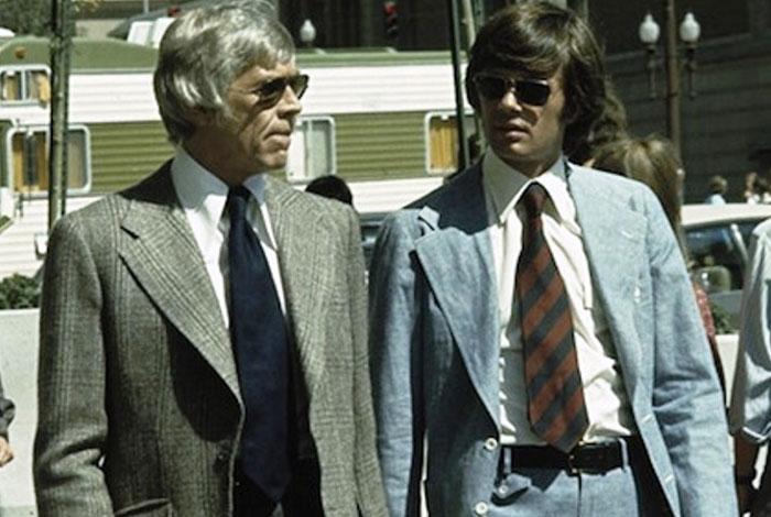 Harry Gentleman pickpocket : Michael Sarrazin porte une Rolex Daydate en or jaune