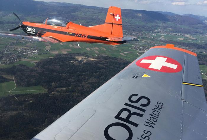 Oris Aviators Basel Mission : une collection horlogère prend son envol