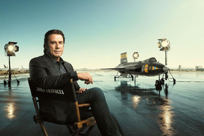 Breitling : John Travolta et le North American X-15 dans une nouvelle campagne de communication