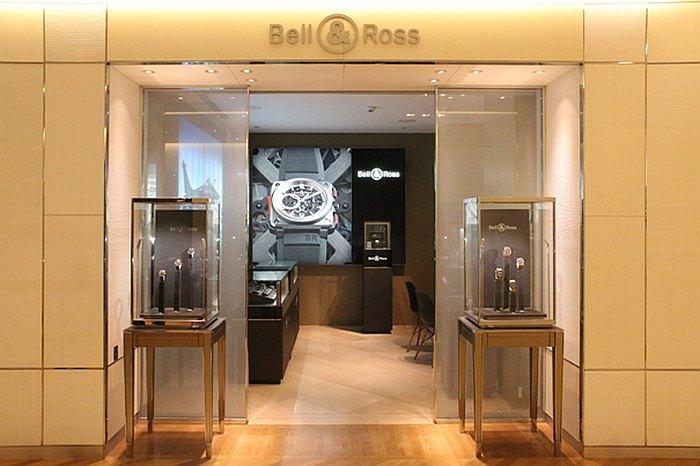 Bell & Ross : ouverture d'une boutique exclusive au Bon Marché