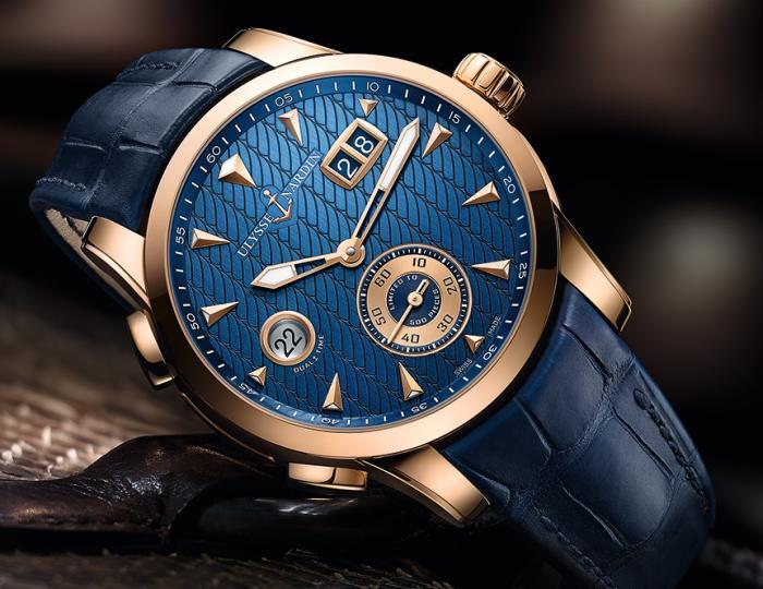 Ulysse Nardin Dual Time Manufacture : deux nouveaux modèles
