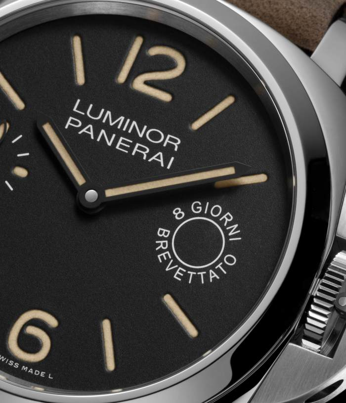 Panerai Luminor Marina 8 jours en acier 44 mm