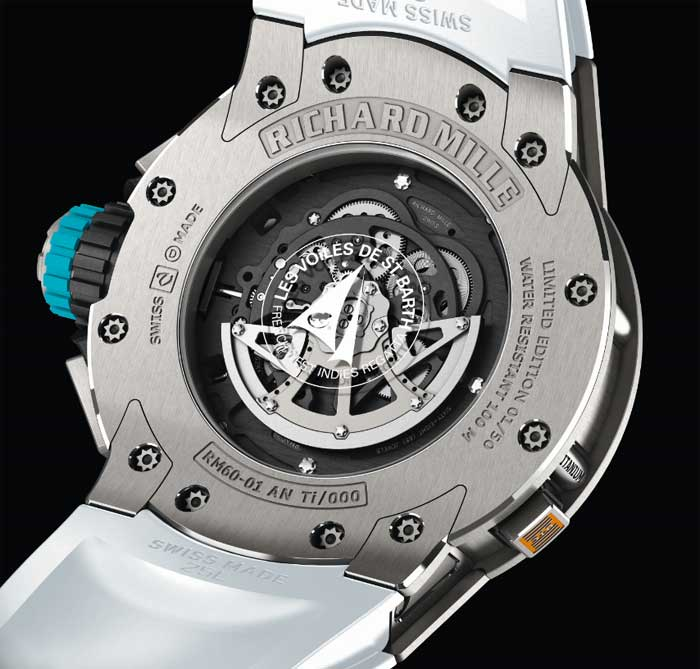Richard Mille Chronographe Flyback RM 60-01 Régate
