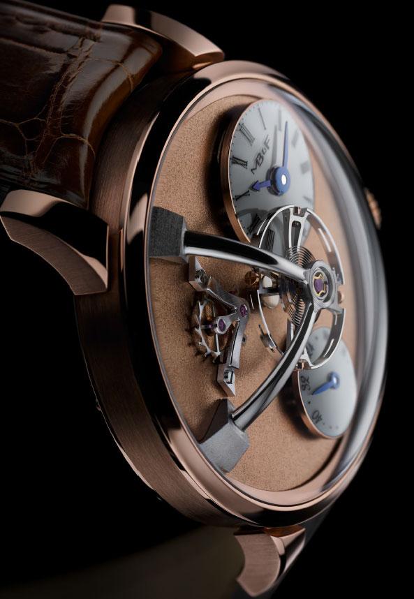 MB&F Legacy Machine 101 Frost : une montre un peu givrée