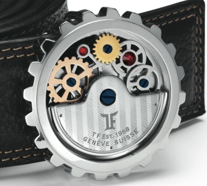 TF Est. 1968 : ceinture à boucle horlogère