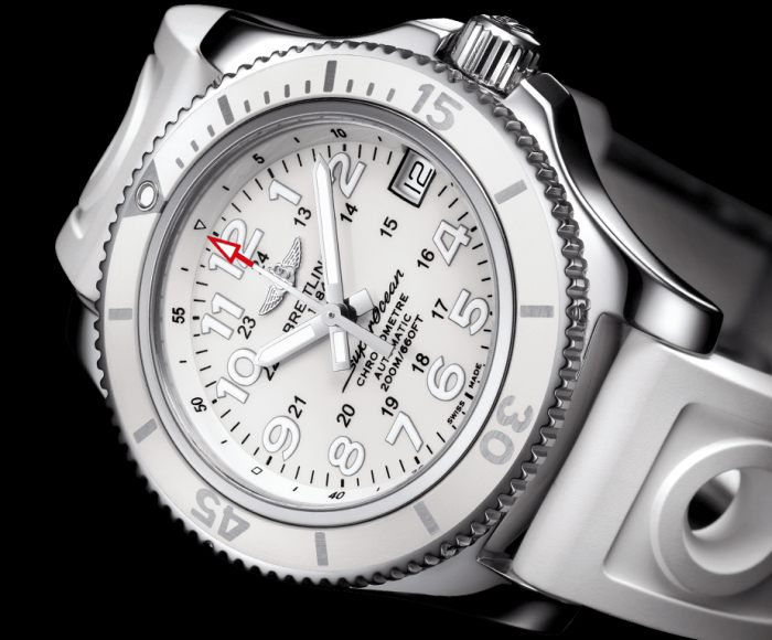 Breitling SuperOcean II 36 version blanche
