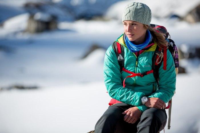 Melissa Arnot pour Alpina