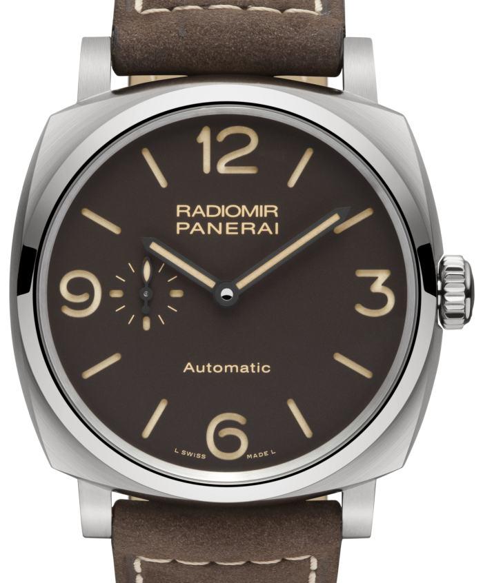 Panerai Radiomir 1940 3 Days Automatic Titanio : le retour du micro-rotor
