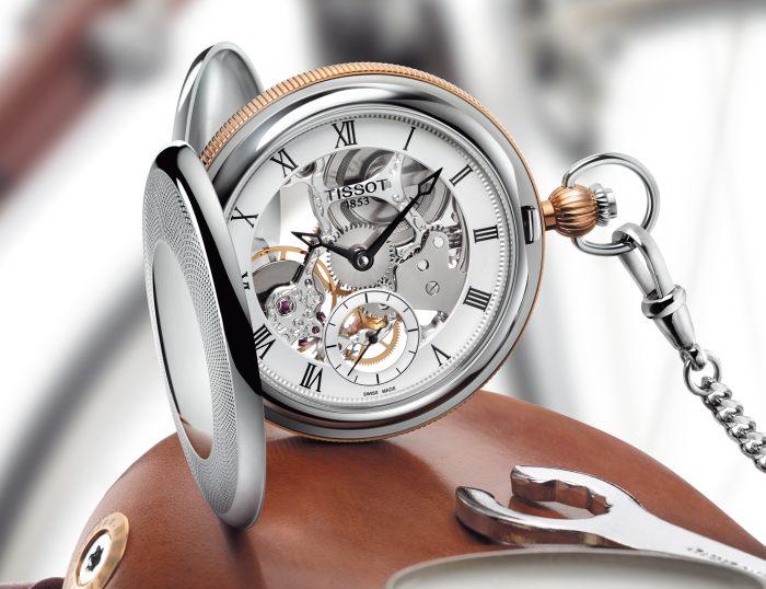 tissot montre de poche