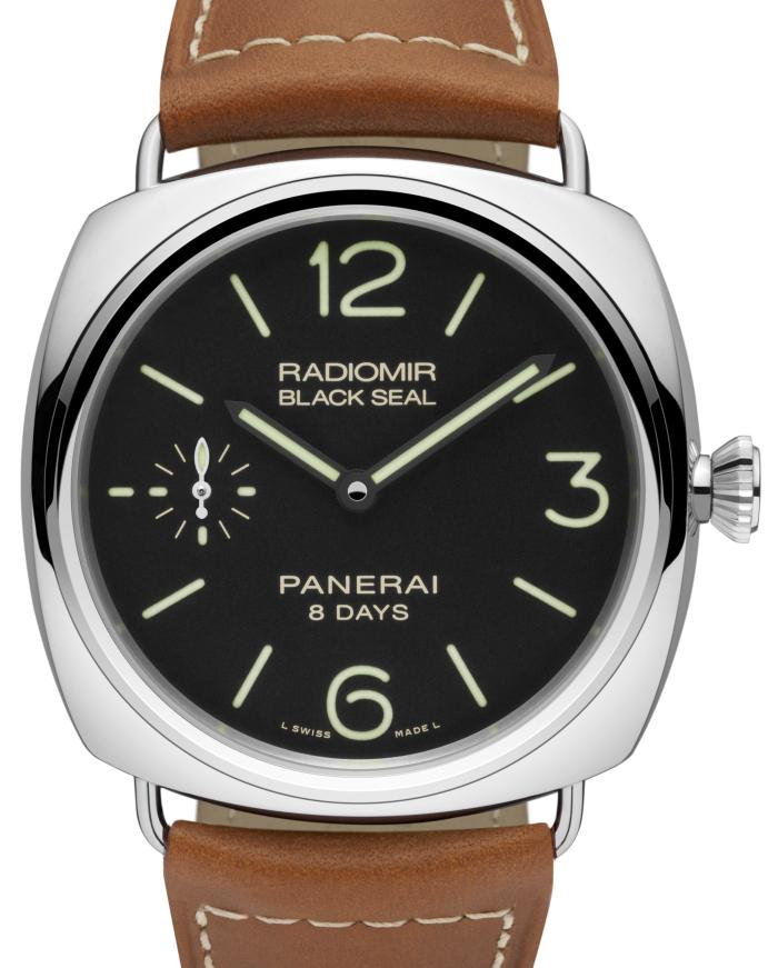 Radiomir Black Seal 8 jours 45 mm (PAM 609)