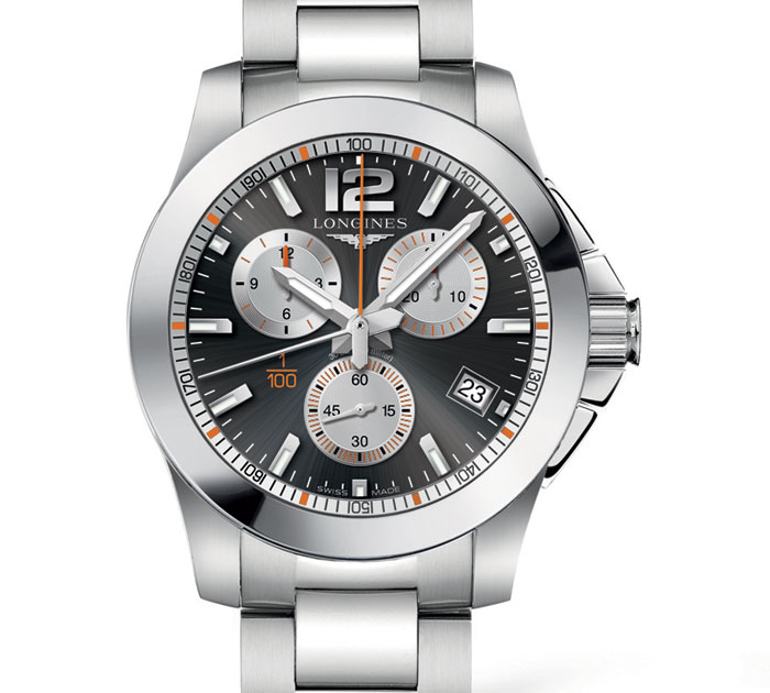 Longines Conquest 1/100th Roland Garros